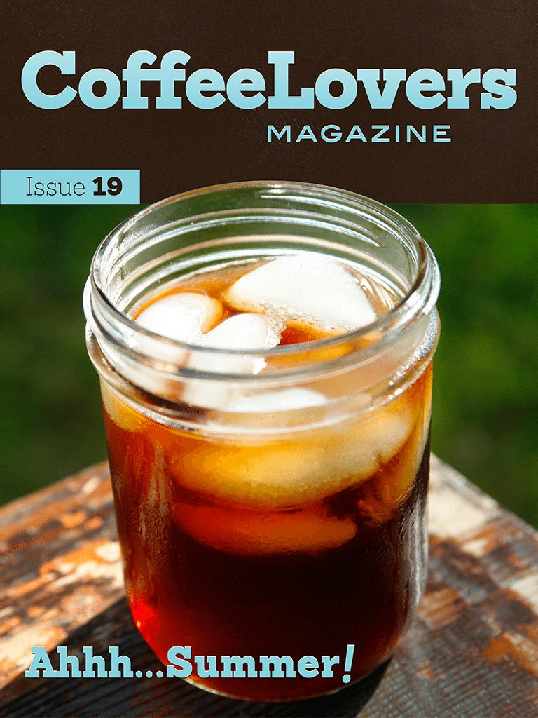 Coffee Magazine Issue Cover