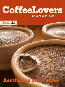 Coffee Magazine Cover Issue 21