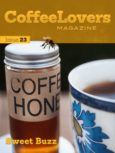 Coffee Lovers Magazine Issue 23 Cover