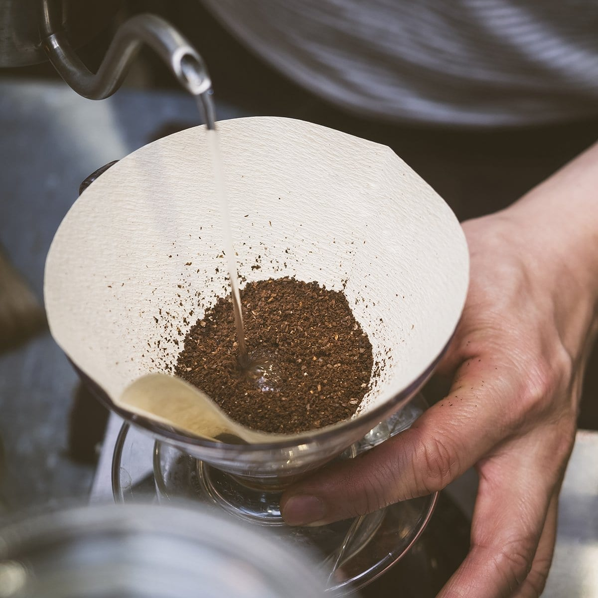 Hand Drip Coffee - Bloom - Pour Over