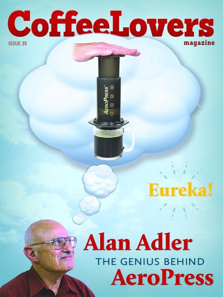 Coffee Magazine - Aeropress - Alan Adler