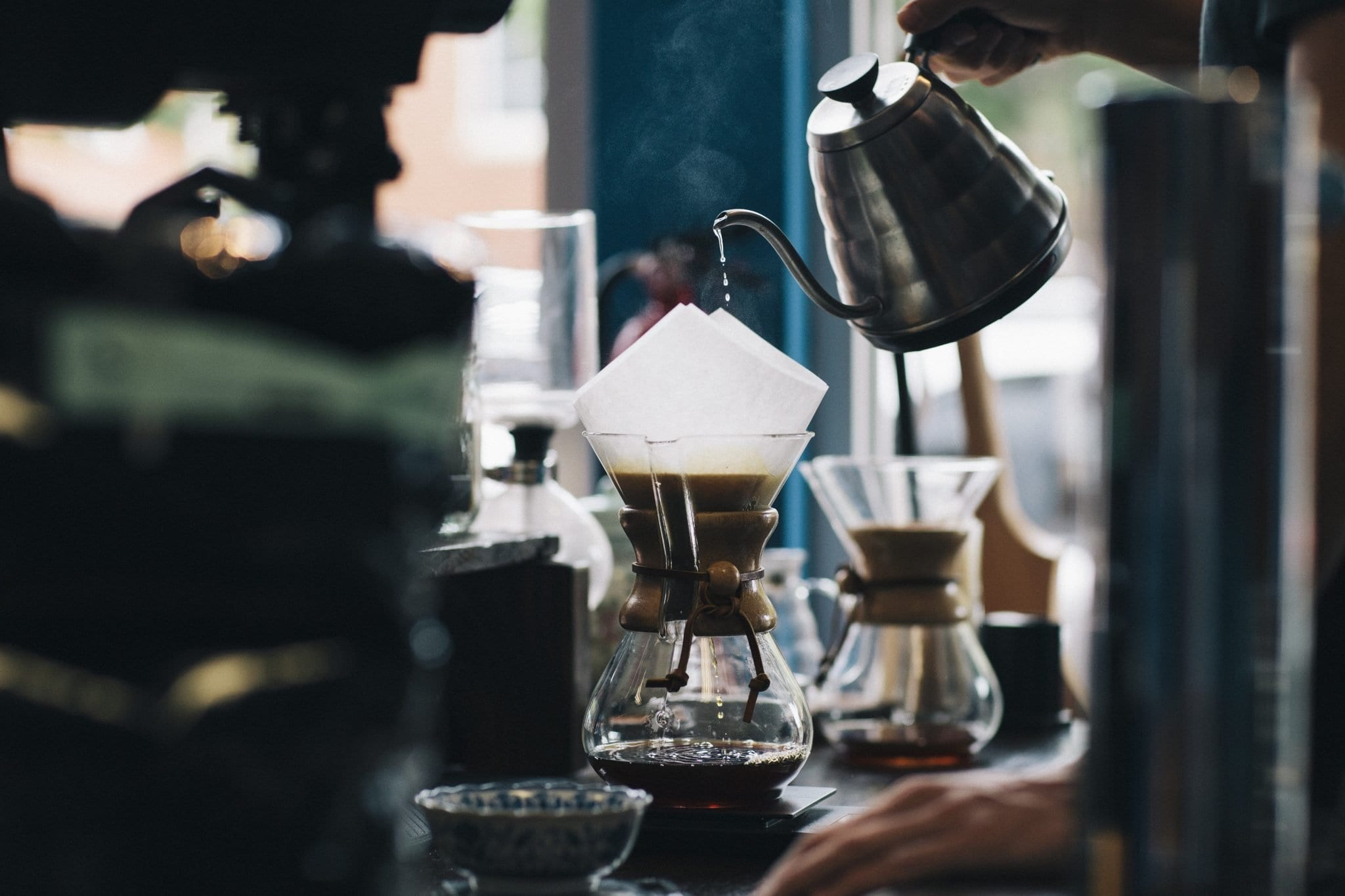 Brewing With The Chemex