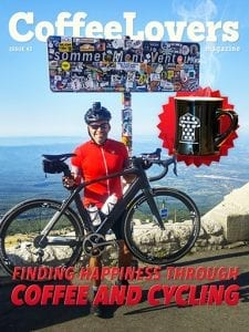 Coffee and Cycling - Issue 43 - Coffee Lovers Magazine