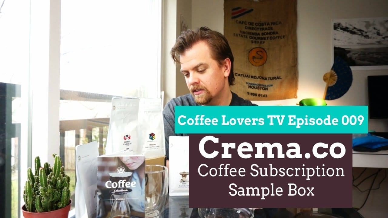 Crema Coffee Subscription - Video Review