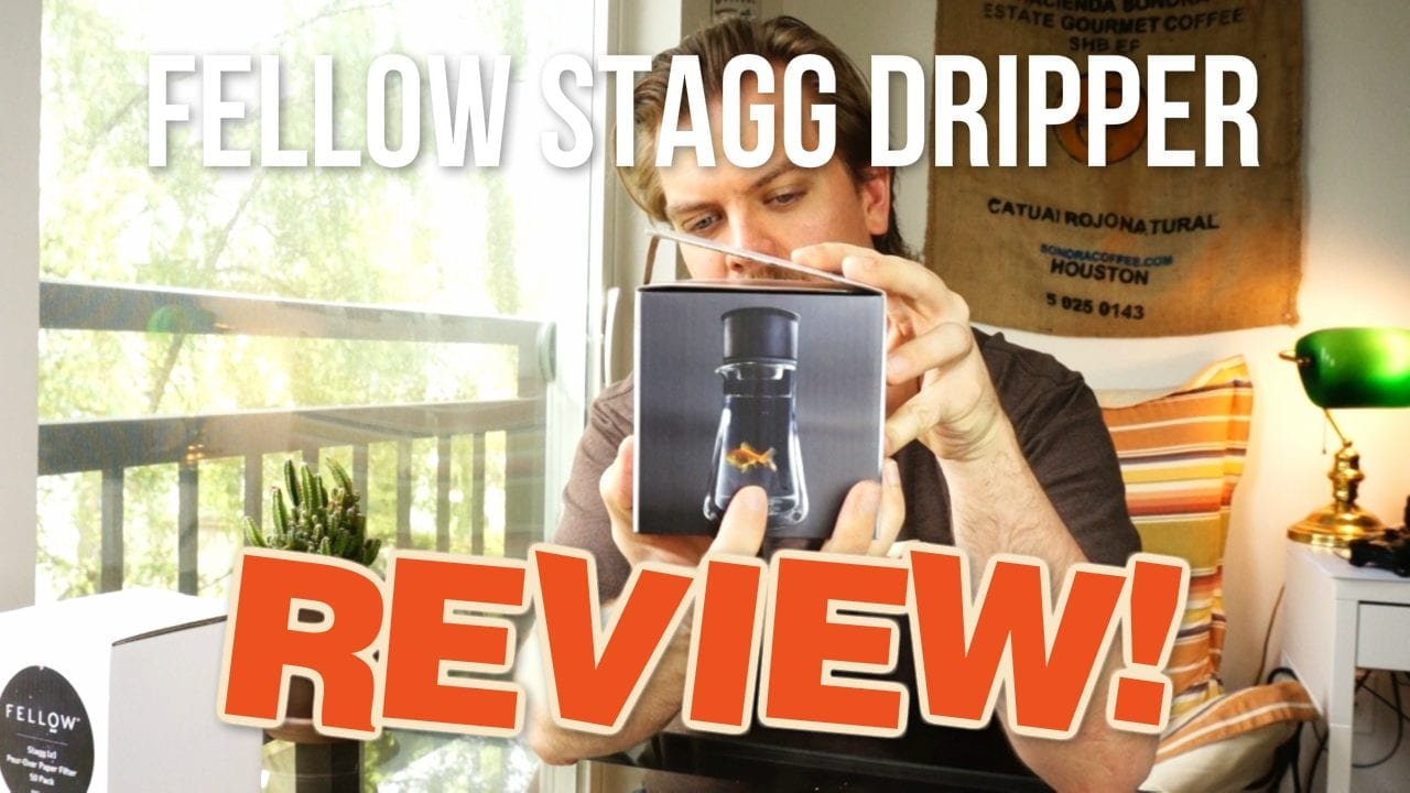 Fellow Stagg Pour Over Coffee Dripper - Unboxing and Review