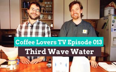 How The Water You Brew With Will Make or Break Your Coffee…