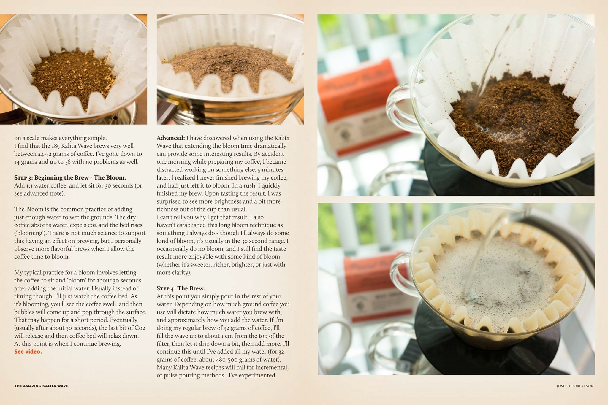 How to Brew with the Kalita Wave - Issue 54