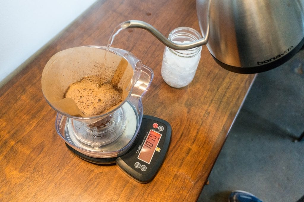 Clever Dripper - Weigh Your Coffee - Coffee Scale