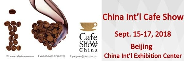 Cafe Show China 2018