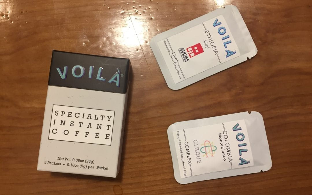 Voila – Specialty Instant Coffee Review